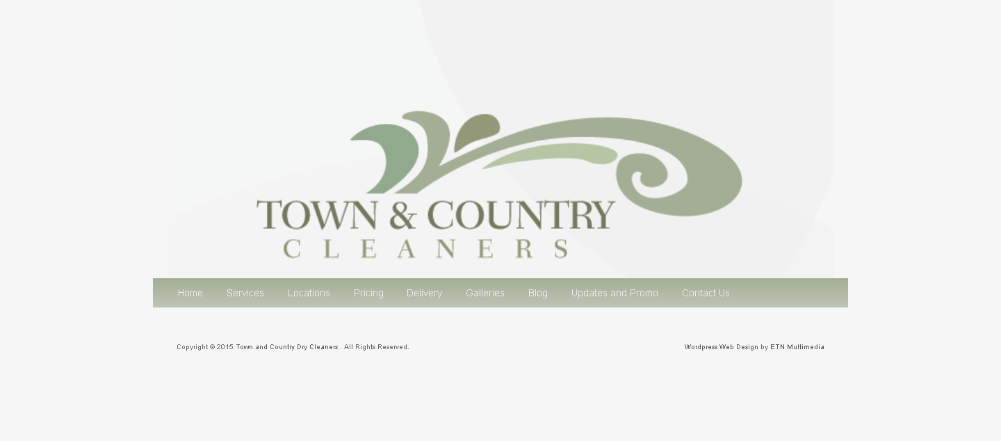 Dry Cleaners Website : TownCountryDryCleaning.com