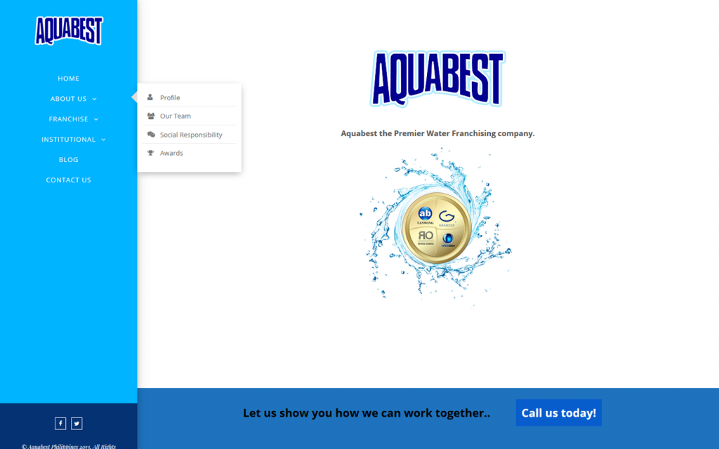 Franchising Website : Aquabest
