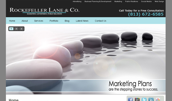 rockefellerlane-web-marketing-website