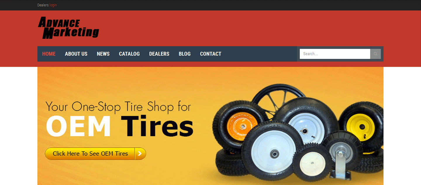 Tire Sales Website : Advancemarketingph.com