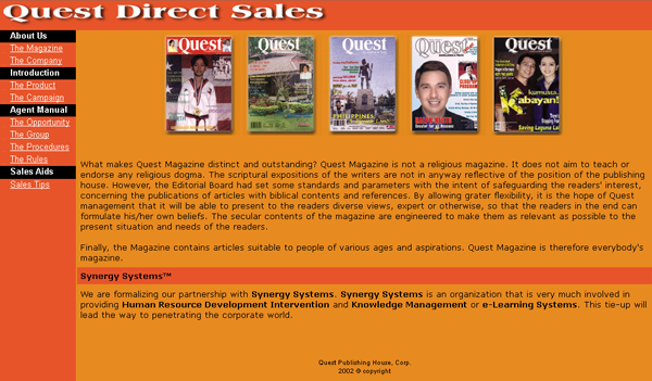 Quest Direct Sales