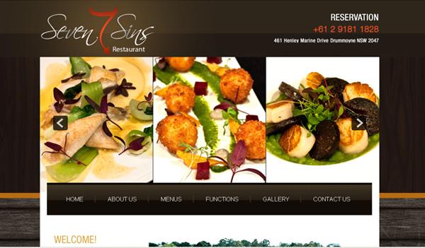 Sevensinsrestaurant.com.au