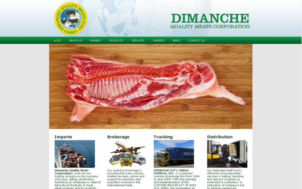 Meat Importer Website : Dimanchequality.com