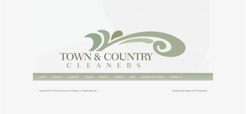 Case Study : TownCountryDryCleaning.com