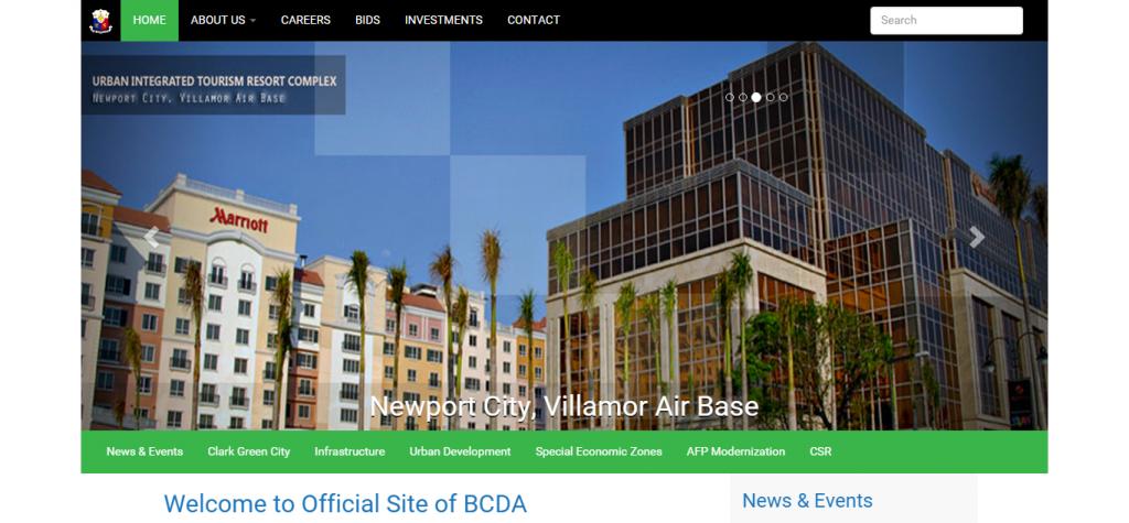 BCDA Website
