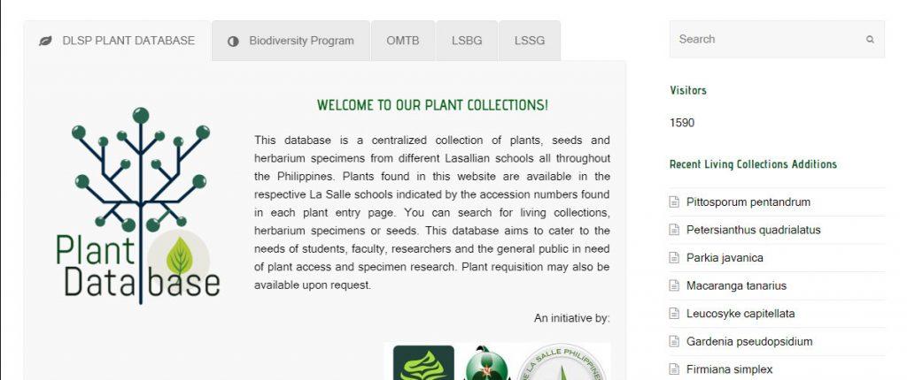 DLSP Plant Database - ETN Multimedia