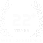 22+ years of professional web design service.